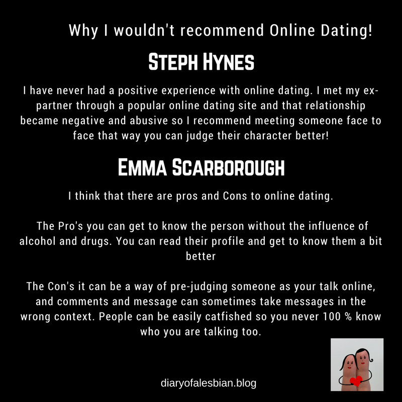 The cons of online dating